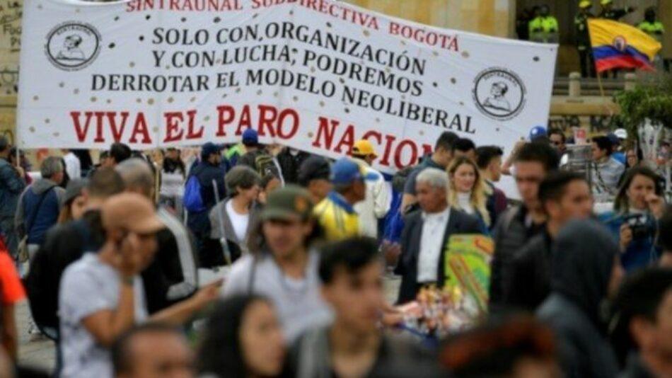 Colombia. Tercera huelga nacional contra el gobierno de Duque