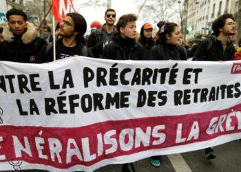 La huelga contra la reforma de las pensiones en Francia alcanza su decimonovena jornada