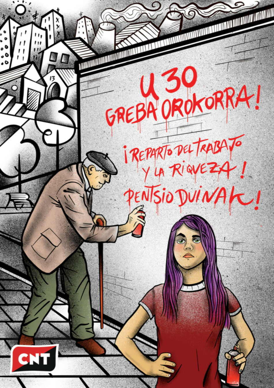 30 de enero. Huelga General en Euskal Herria