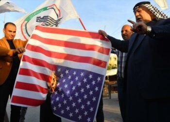 Las fuerzas de movilización popular exigen la inmediata retirada de los Estados Unidos de Irak