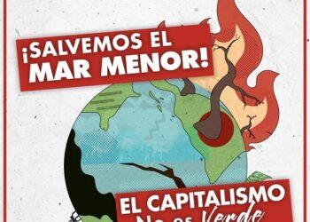 El PCE de Murcia rechaza el decreto de medidas sobre el Mar Menor aprobado por el gobierno regional