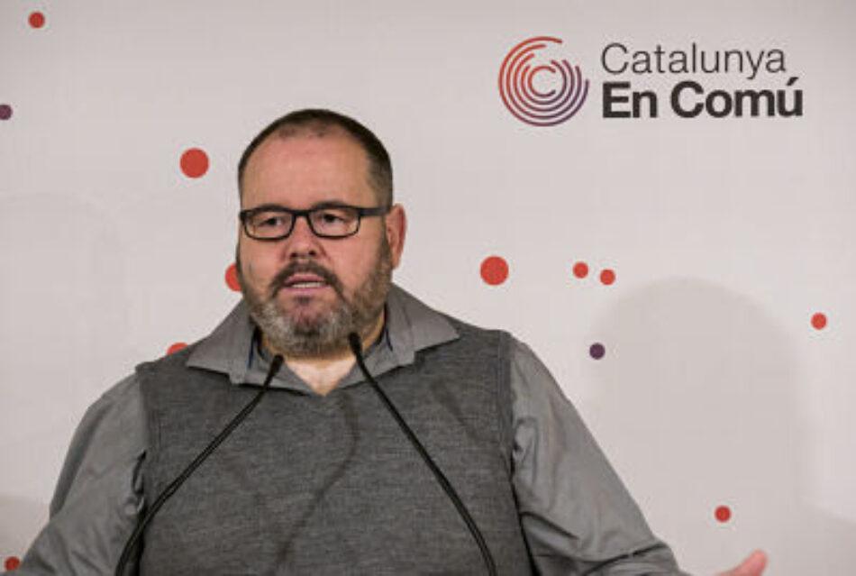 """Mena: """"ERC ha de deixar de jugar al pòquer amb Torra i atrevir-se a ser un actor d'estabilitat progressista a Espanya i Catalunya"""""""