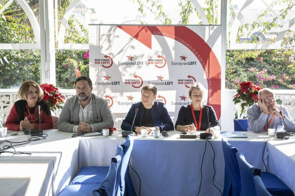 """El PIE debate su política de alianzas: """"Somos la mayor organización de la izquierda europea y queremos aglutinar a todos los partidos"""""""