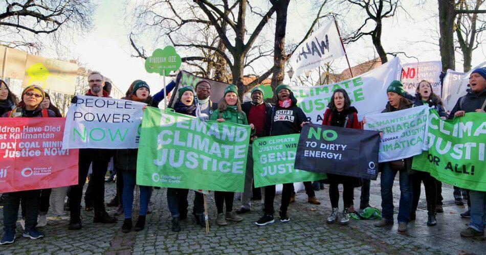 Amigos de la Tierra denuncia la amenaza que suponen los mercados de carbono para lograr una acción efectiva ante la crisis climática
