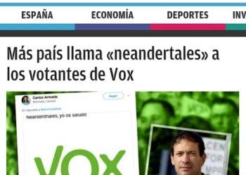 Vox, el fascismo como seña