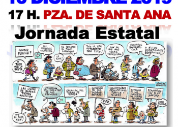 10D: Jornada Estatal contra las listas de espera y la privatización de la sanidad