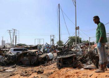 Se eleva a 76 el número de muertos tras atentado en Somalia