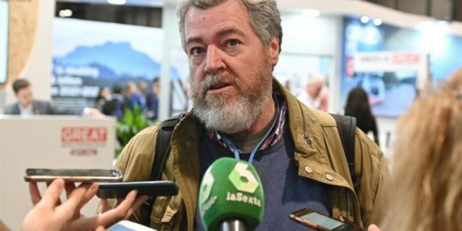 López de Uralde lamenta que «los gobiernos no han escuchado en la COP25 el clamor de la calle»