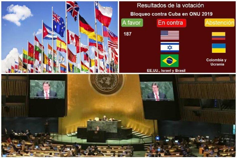 Comunidad internacional abiertamente contra bloqueo de EE.UU. a Cuba