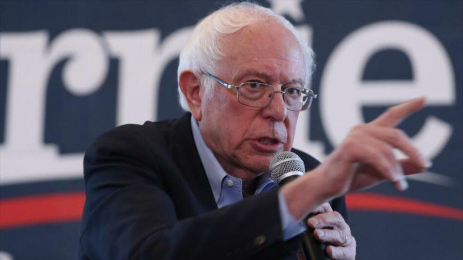 Sanders: Asesinato de Soleimani nos acerca a otra guerra desastrosa