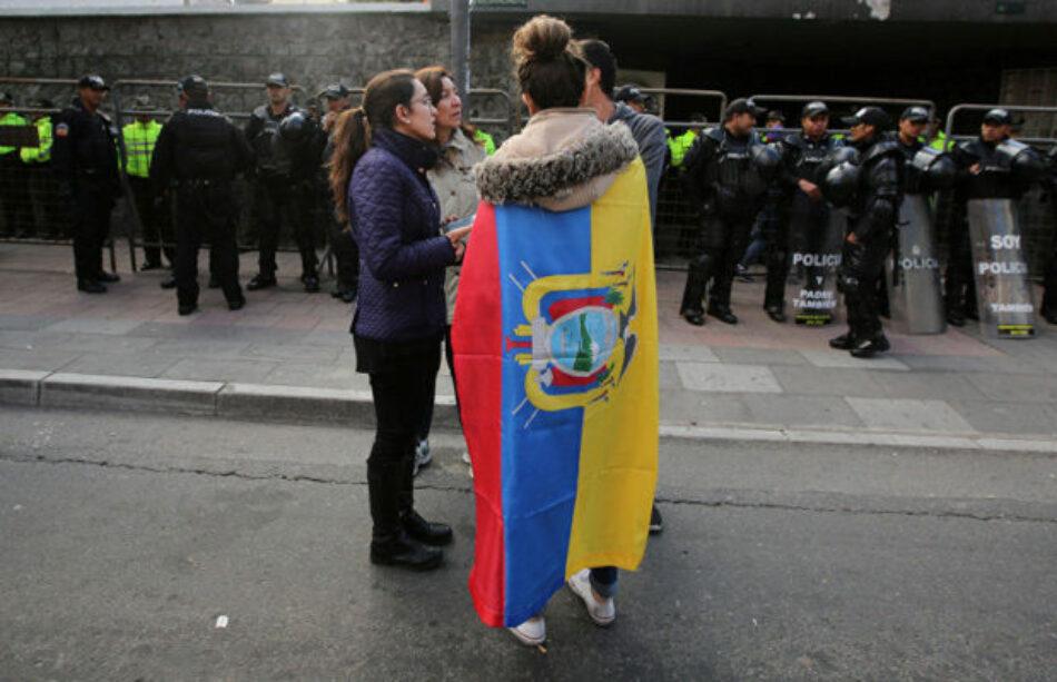 El partido de Correa denunciará internacionalmente la persecución política en Ecuador