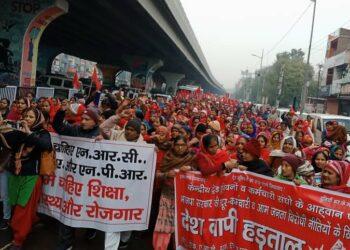 Éxito de la huelga general en la India: 250 millones de trabajadoras y trabajadores contra el neoliberalismo