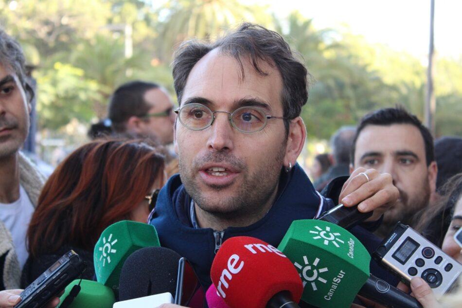 """Valero asegura que el cogobierno PSOE-UP  es """"la mejor noticia para Andalucía"""" frente al Gobierno """"antisocial"""" de las derechas"""