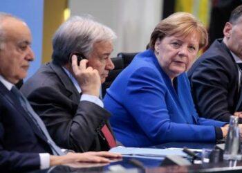 Conferencia de Berlín pacta plan de solución a crisis en Libia