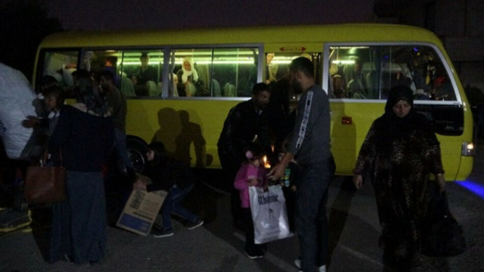 4.500 refugiados de Rojava vuelven a sus casas desde Bashur