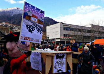 La cumbre de Davos se inaugurará a la sombra de las protestas