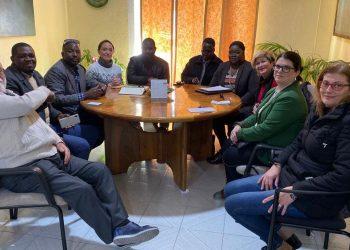 Entrevista a los compañeros de CGT tras la agresión a Mahamadou Coubaly por negarse a trabajar sin Seguridad