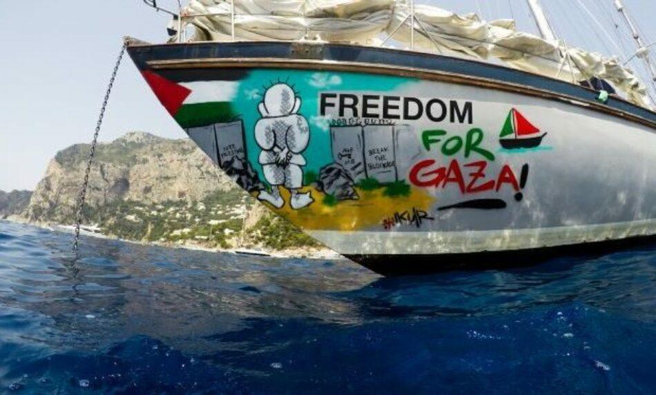 La Flotilla de la Libertad hará su 35º intento de navegar a Gaza en 2020