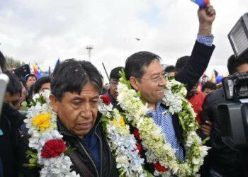 Luis Arce Catacora ya está en La Paz con la misión de activar la campaña del MAS