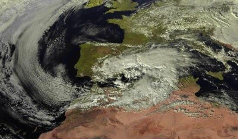 AEMET señala que «Gloria» viene a corroborar que el sureste peninsular se encuentra en un periódo húmedo