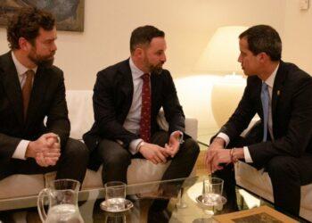 Guaidó volvió a pedir en su gira europea «más sanciones» contra Venezuela, pero también contra el criterio de la ONU