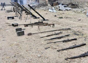 El ejército sirio incauta drones y armas de EEUU en Idlib