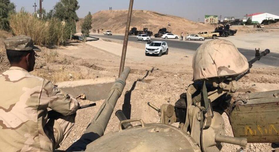 Atacan con misiles una base aérea en Irak que alberga tropas de Estados Unidos, y la Zona Verde de Bagdad