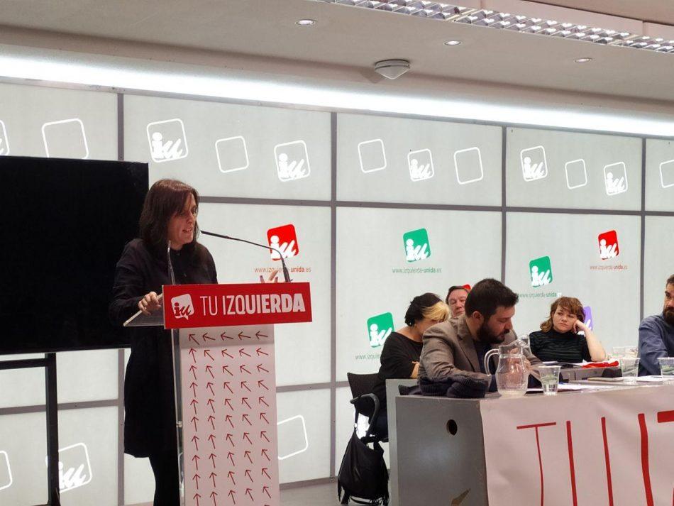 Izquierda Unida Madrid celebrará su I Asamblea Regional en julio