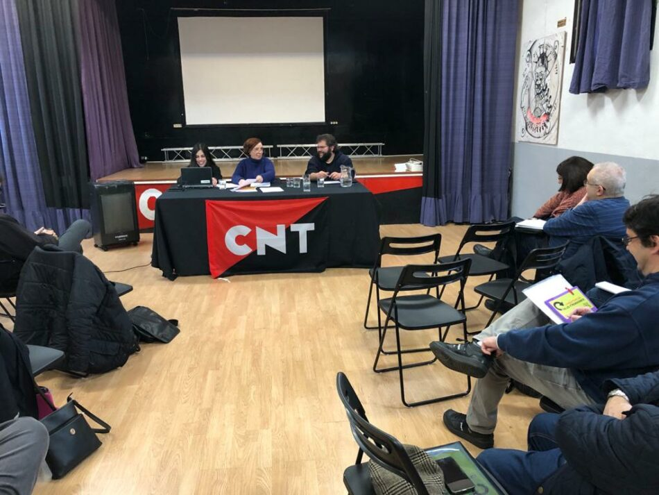 La Regional Centro de CNT celebra sus conferencias sobre Pensiones y Sanidad