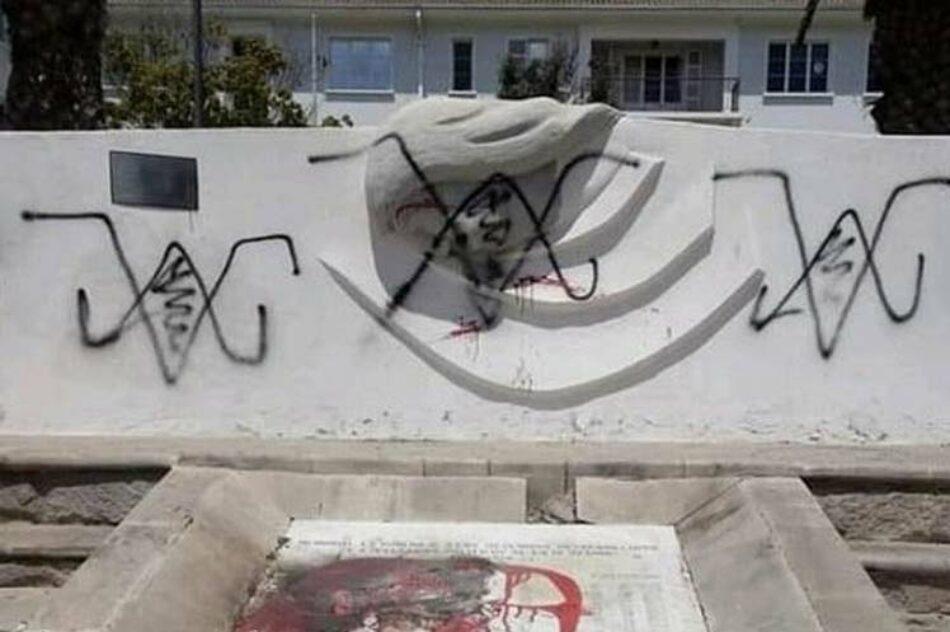 Ultrajan en Chile monumento a víctimas de la dictadura