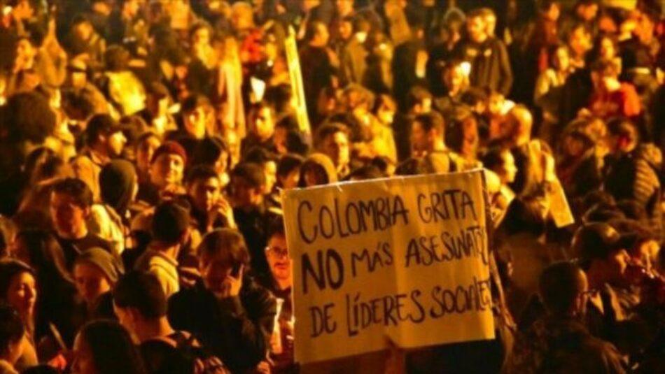 Nuevo asesinato de líder social en Colombia, suman 18 en el año