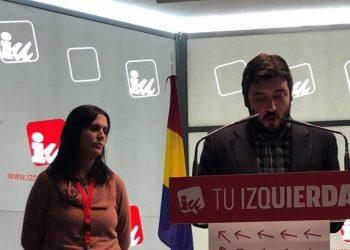 Carolina Cordero y Álvaro Aguilera, nuevos coportavoces de IU Madrid