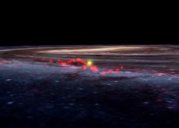 Descubierta una onda de viveros de estrellas en nuestro entorno galáctico
