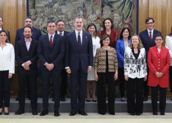Manuela Carmena: «Este nuevo gobierno es una esperanza para el progreso de nuestro país»