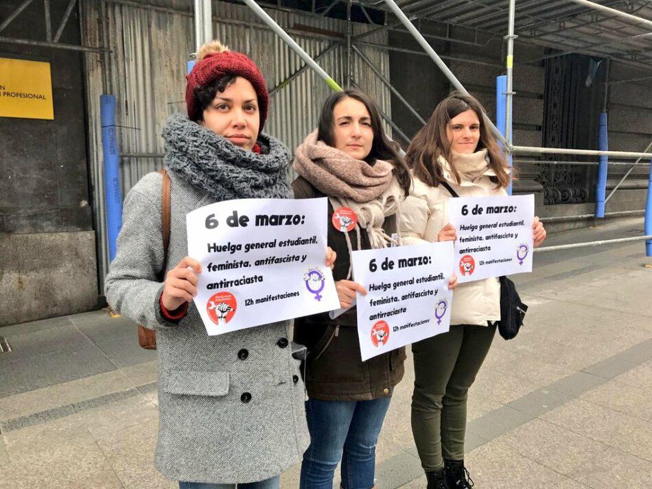 Sindicato de Estudiantes y Libres y Combativas denuncian campaña de acoso de seguidores de VOX a sus  portavoces Coral Latorre y Ana García
