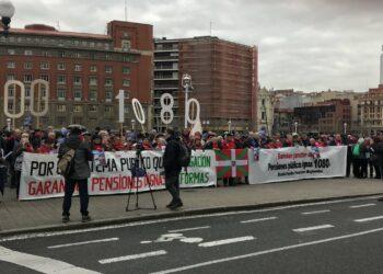 La Confederación Intersindical apoya la huelga general convocada en Euskadi y Navarra el próximo 30 de enero en defensa de un sistema de pensiones público y digno