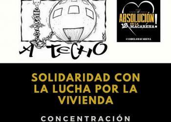 APDHA Sevilla exige la absolución para quienes demandaron el derecho a la vivienda en el pleno del ayuntamiento de Sevilla hace dos años
