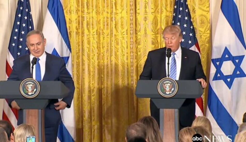 """IU pedirá llevar a Pleno el acuerdo Trump – Netanyahu y reclama a Borrell """"valentía"""" y dar la cara por el pueblo palestino"""