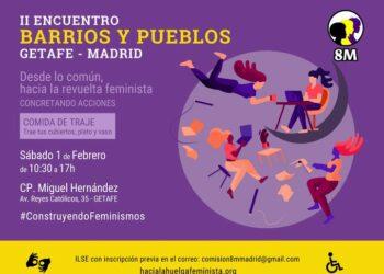 Las feministas de barrios y pueblos se coordinan para la Revuelta Feminista