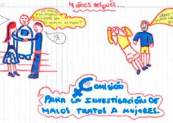 """La Exposición """"Crecer con miedo: niños y niñas ante la violencia de género"""" llega a Rivas"""