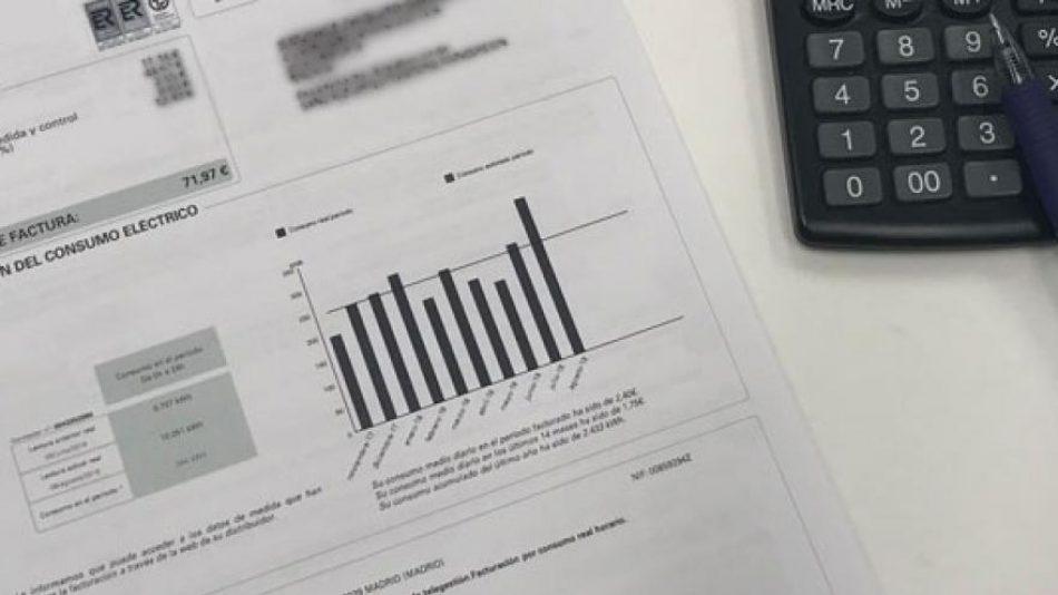 La factura eléctrica acumula una subida del 12% con respecto a 2018, el año que Sánchez promete igualar