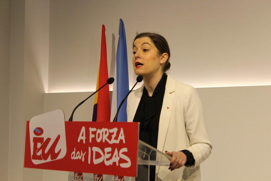 Esquerda Unida leva a Bruxelas os problemas da sanidade pública e a censura por parte do Goberno da liberdade de expresión dos profesionais