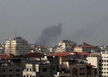 Ejército de Israel bombardea Franja de Gaza en Palestina