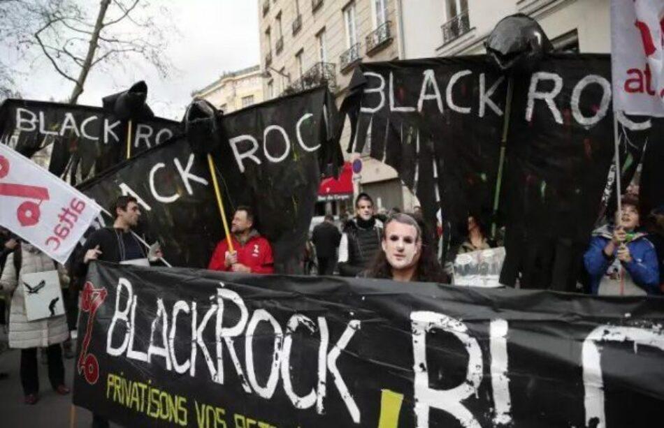 Francia. Trabajadores Ferroviarios ocupan las oficinas del fondo buitre BlackRock en París
