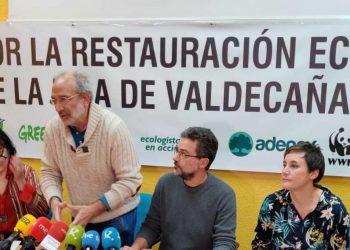 Las principales asociaciones ecologistas exigen el cumplimiento de la ley en Valdecañas