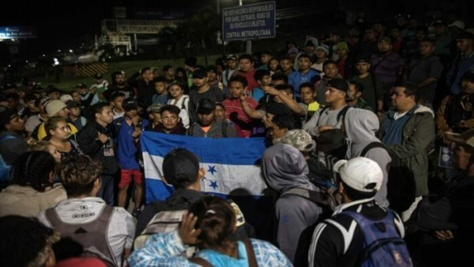 Guatemala. Reprimen Caravana Hondureña de Migrantes