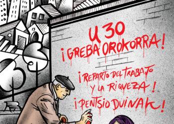 CNT: «Ante las mentiras, solo queda hacer huelga general este 30E»