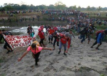 México. Condena CNDH todo acto de violencia contra migrantes