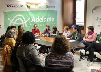 Adelante Andalucía se reúne con colectivos de mujeres afectados por la paralización de las subvenciones a sus proyectos