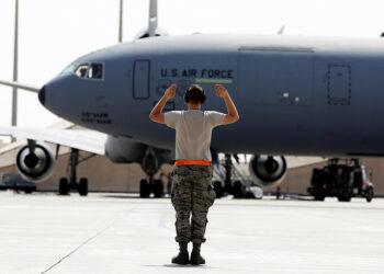 Siete proyectiles de mortero impactan contra una base aérea al norte de Irak que alberga tropas de Estados Unidos